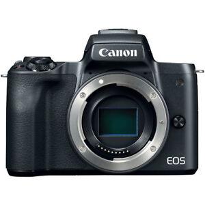 Canon EOS M50 Mirrorless Digital Camera (Body Only, Black)  13803301212