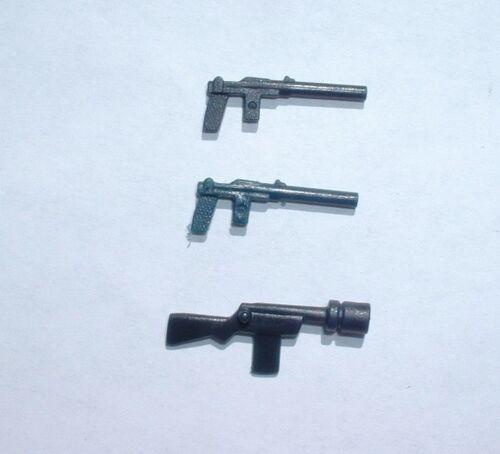 4 REPRO LOT 1977 Leia,Stormtrooper,Jawa Black Blaster Weapon Vintage Star Wars