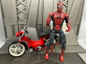 Marvel-Legends-Toybiz-Spider-man-Movie-2-Pizza-Scooter-6-034-Inch-Action-Figure
