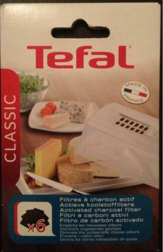 Käse Cheese charcoal filters Tefal 6 filtres charbon actif fromage