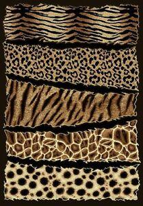6 X 8 African Safari Animal Skins Print High Quality