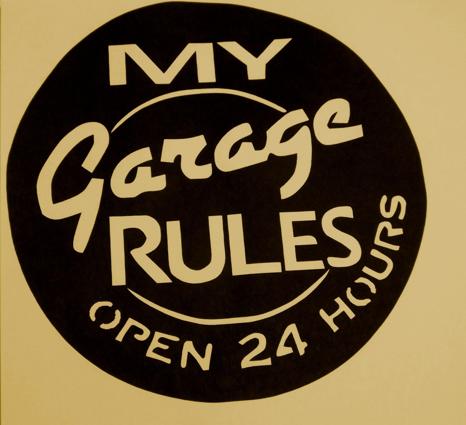 Garage sign for men,Dad,Metal Art,Man Cave,My Garage Rules,signage,wall Rules,signage,wall Rules,signage,wall decor c7a13b