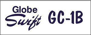 Details about A134a Globe Swift GC-1B Airplane banner hangar garage decor  Aircraft signs