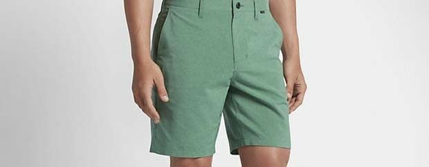 Hurley Dri Fit Heather Short (32) Electro Green
