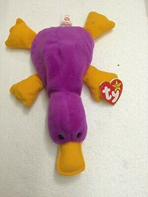 - MWMTs Stuffed Animal Toy 15.5 inch TY Beanie Baby MORRIE the Eel