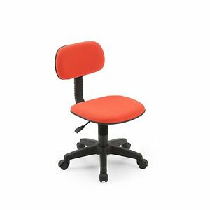 Image Is Loading Hodedah Armless Task Chair Classic Computer Desk Swivel