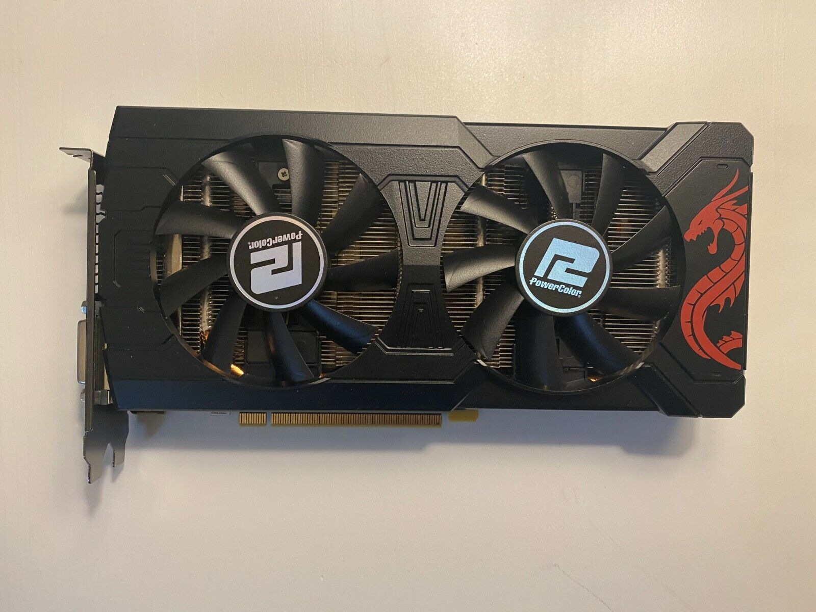 PowerColor AMD Radeon RX 570 4GB GDDR5 Graphics Card NO OUTPUT