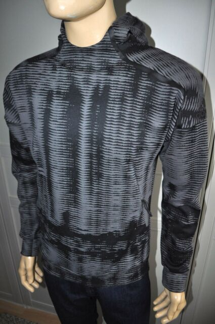 0c528bf13 NEW $120 ADIDAS ZNE PULSE TRAINING HDSWT BQ7040 BLACK MEN`S HOODIE Sz S,