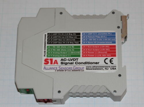 EVERIGHT ALLIANCE SENSORS GROUP S1A AC-LVDT SIGNAL CONDITIONER DIGITAL