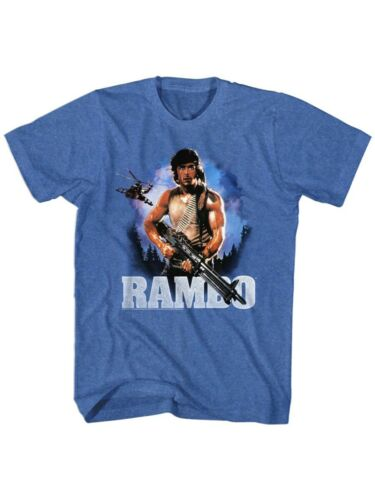 Rambo 80/'s Flag Action Thriller War Army First Blood Movie John Adult T-Shirt