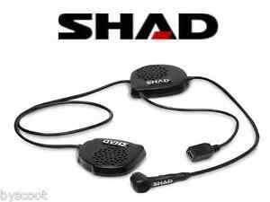 Kit Mains Libres Bluetooth Shad Bc22 Casque Integral Moto Scooter