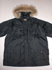 Rocawear Men's XL (Extra Large) jacket fur hood parka snorkel worn only 2x