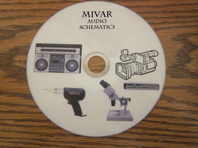 Mivar Audio Repair Service Schematics On 1 Dvd In Pdf