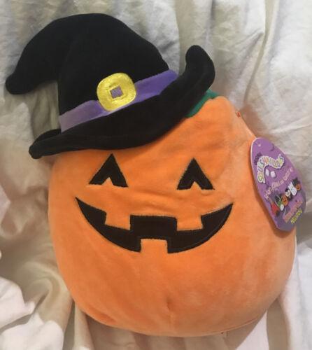 "New Squishmallows 10/"" Paige Witch Pumpkin Halloween 2020 Firecracker"