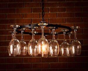 Fantastic Wine Glass Chandelier Light Lighting Chain Wine Decor No Wiring Wiring Database Liteviha4X4Andersnl