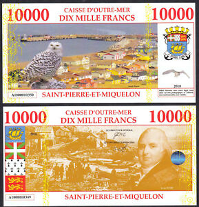 SAINT-PIERRE-ET-MIQUELON-BILLET-TEST-POLYMER-10000-FRANCS