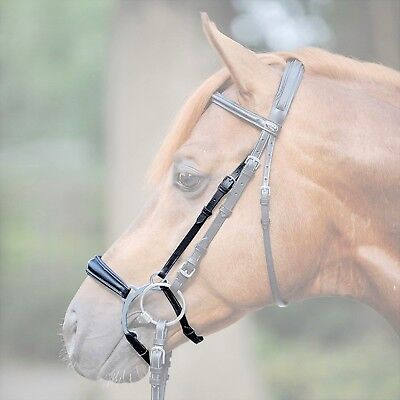 Race Cavesson Noseband ~ PVC ~ In A Choice Of Colours ~ AUSTRALIAN MADE