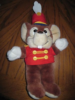 """Vintage 16"""" Disney TIMOTHY MOUSE in Dumbo Movie designed for Sears Plush"""