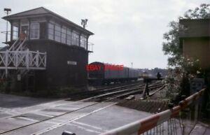 PHOTO-GILLINGHAM-KENT-SIGNAL-BOX-IN-JULY-1988