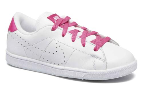 Nike Tennis Classic Premium White//Pink Infant