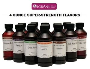 LorAnn-4-oz-Super-Strength-Flavoring-Oils-Flavor-Extracts-Four-Ounce-Bottles