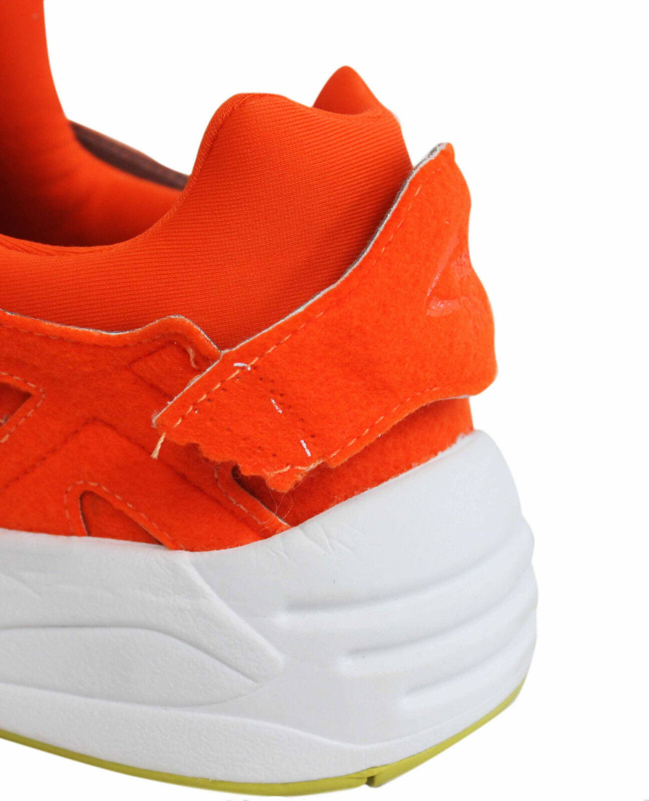 Puma Trinomic Disc Blaze Orange Orange Orange Felt Uomo Trainers Slip On Shoes 359361 01 P2 a203fb