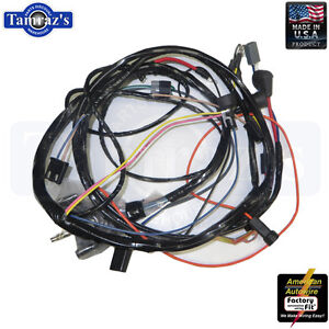 Enjoyable 72 Chevelle El Camino Monte Carlo Engine Wiring Harness V8 W Wiring Cloud Tobiqorsaluggs Outletorg