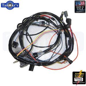 72 chevelle el camino monte carlo engine wiring harness v8 ... el camino wiring harness ebay