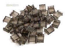 LEGO® 1x2x2 Fenster Glas transparent rauch Wandelement Eisenbahn 50 Stück 87552