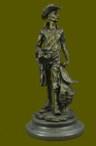 Kamiko Bronze Metal Arizona Cowboy Country Western Wild West Sculpture Statue