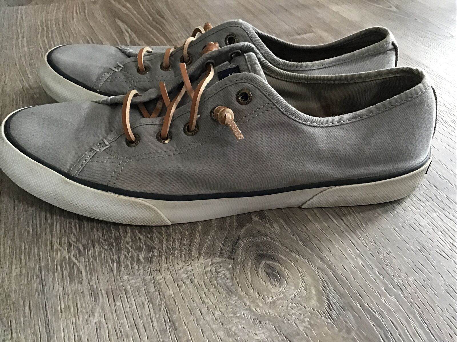 **Sperry Pier View Core STS95729 Shoes, Women's Size 10M, Gray