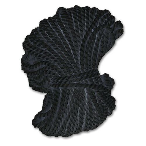10 m Schlagschnur 0,20€//m Markierschnur Alco 1611 schwarz aus Kunstseide
