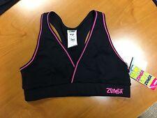 Zumba Sports bra Tribe V-top bra Black