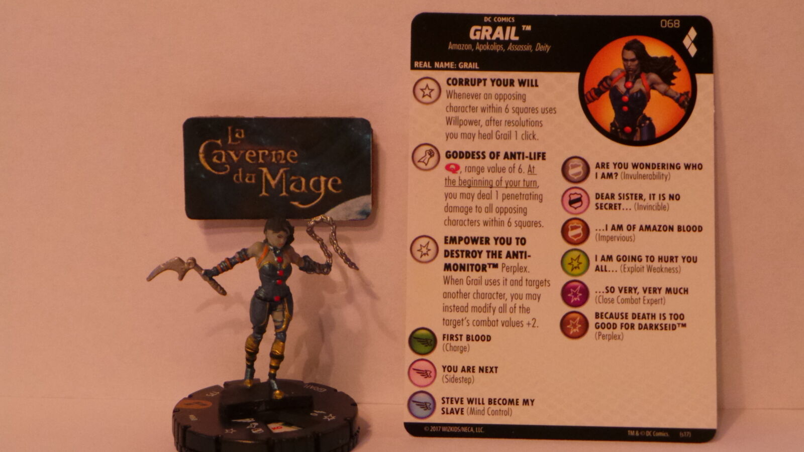 HEROCLIX HARLEY QUINN AND THE GOTHAM GIRLS  068 Grail Chase