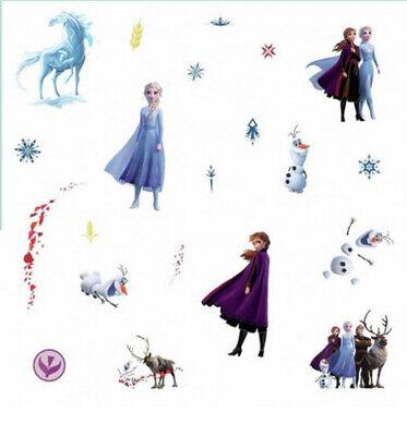 Elsa Frozen Bath Bathroom Ceramic Tile Glass Reusable Stickers Decals