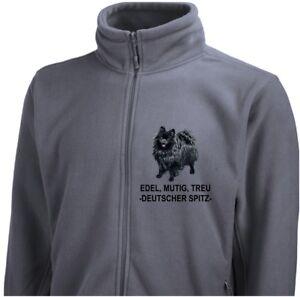 Spitz 7 Giacca Siviwonder Ricamo pile di tedesca Dog Giacca in qw1XqI
