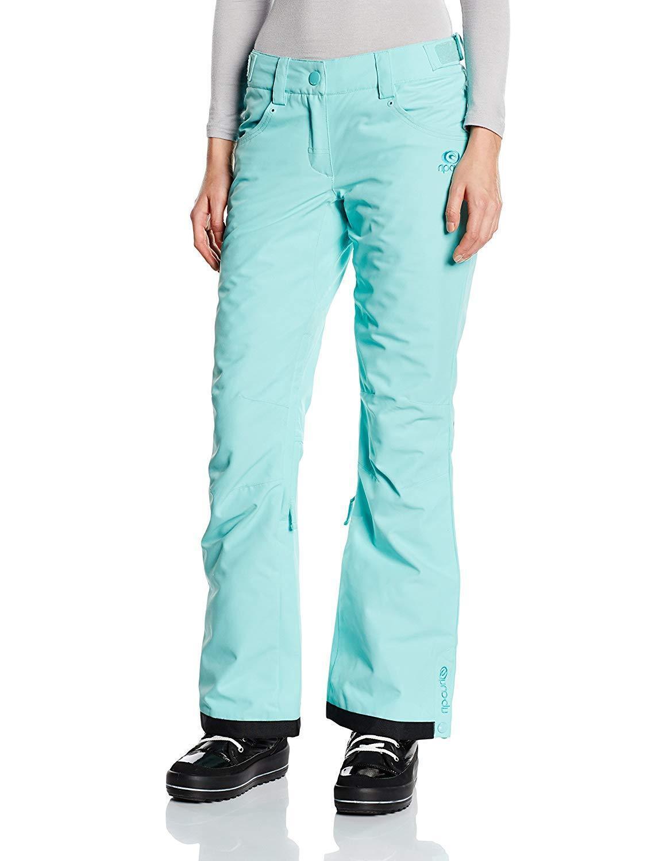 Rip Curl Größe L daSie Ski Hose Trousers Snowboard Slim New Blau Aqua Qanik Sky A6818