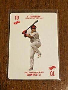 2019-Topps-52-Card-Baseball-Base-Card-J-T-Realmuto-Philadelphia-Phillies