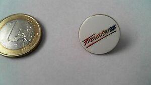 Automobilia Sinnvoll Opel Frontera Pin Badge Weiss 90er Jahre