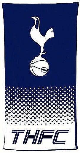 TOTTENHAM HOTSPUR FC LARGE BEACH BATH SWIM GYM TOWEL 100% COTTON THFC SPURS