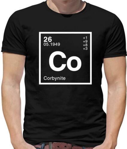 Labour Corbynite Mens T-Shirt Brexit Politics Science Jeremy Corbyn