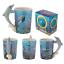 thumbnail 56 - Animal Shaped Handle Ceramic Mug Tea Coffee Cup Novelty Gift Jungle Tropical