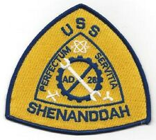 USS SHENANDOAH AD-26 DESTROYER TENDER MILITARY PATCH PERFECTUM SERVITIA