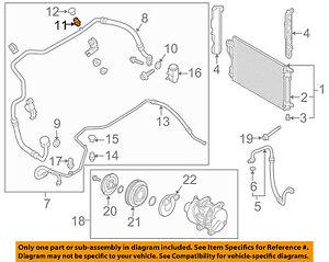AC A//C Suction Line Fits 2007 2008 2009 2010 2011 2012 Hyundai Elantra  L4
