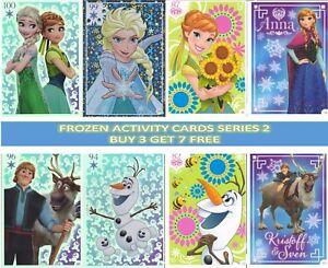 TOPPS DISNEY FROZEN ACTIVITY CARDS SERIES 2 BUY 3 GET 7 FREE