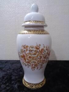 Porcellana Vaso Design Goldblüte