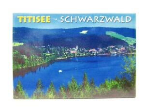 Schwarzwald-Titisee-Forest-Foto-Magnet-Germany-8-cm-Reise-Souvenir