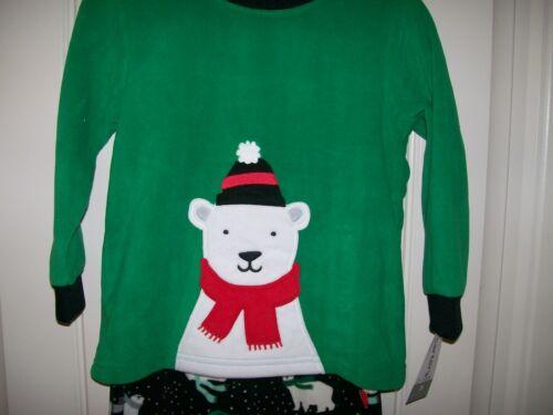CARTER/'S BOY/'S  CHRISTMAS POLAR BEAR 2 PIECE PAJAMA SET SIZE 2 /& 3 TODDLER