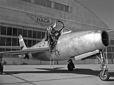 PHOTOGRAPH 1950 VINTAGE MILITARY PLANE FIGHTER PILOT ART POSTER PRINT LV3512