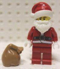 Lego® Minifig Nikolaus Santa Claus Christmas unbespielt mit Sack new